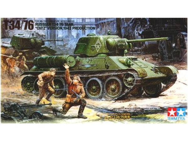 "Tamiya T34/76 Russian Tank ""ChTZ"" Version 1943"