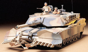 Tamiya U.S. M1A1 Abrams with Mine Plow