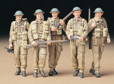 Tamiya British Infantry on Patrol