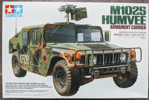 Tamiya M1025 Humvee Armament Carrier
