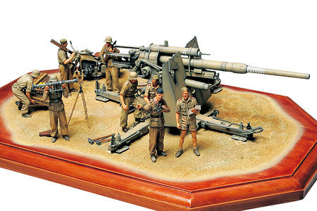 "Tamiya 1/35 German 88mm Gun Flak 36 ""North African Campaign"""