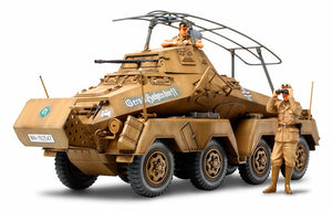 "Tamiya German 8-Wheeled Heavy Armoured Car Sd.Kfz.232 ""Africa-Corps"""