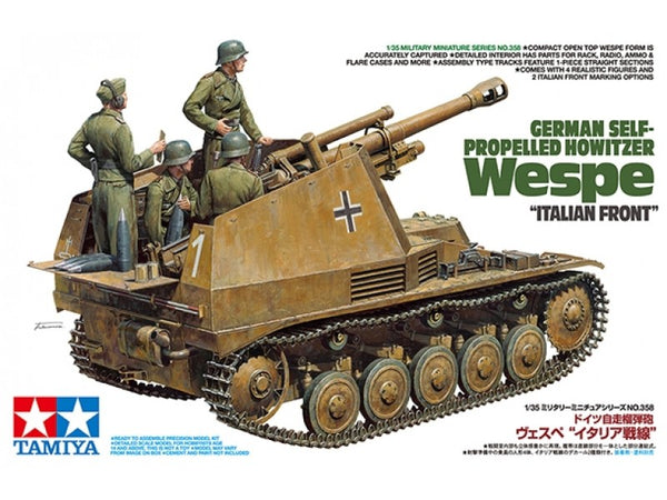 Tamiya German Self-Propelled Howitzer Wespe 'Italian Front""