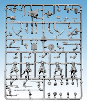Frostgrave Soldiers II Females Single Sprue