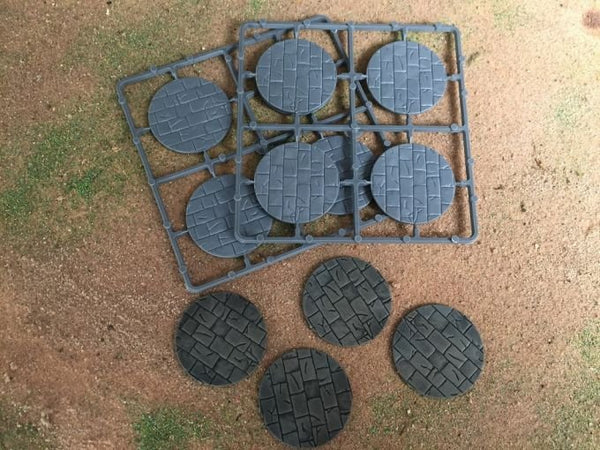 Renedra 50mm Diameter Paved Bases