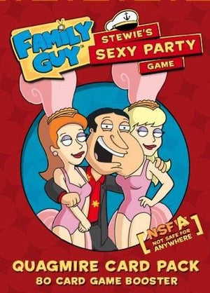 Family Guy: Quagmire Card Pack - Expansion Pack - Stewies Sexy Party Game