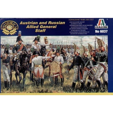 Italeri Austrian and Russian Allied General Staff