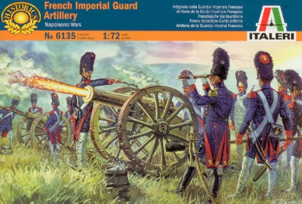 Italeri French Imperial Guard Artillery