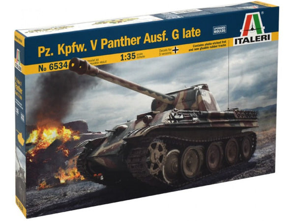 Italeri Pz. Kpfw. V Panther Ausf. G late