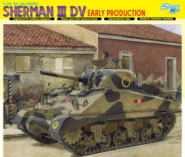 Dragon 1/35 Sherman III DV, Early Production