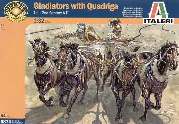 Italeri Gladiators with Quadriga