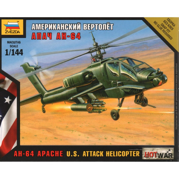 Frank Zvezda Zvezda Ah-64 Apache U.s Diecast & Toy Vehicles Attack