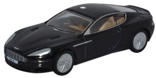 Oxford Diecast Aston Martin DB9 Coupe Onyx Black - 76AMDB9002