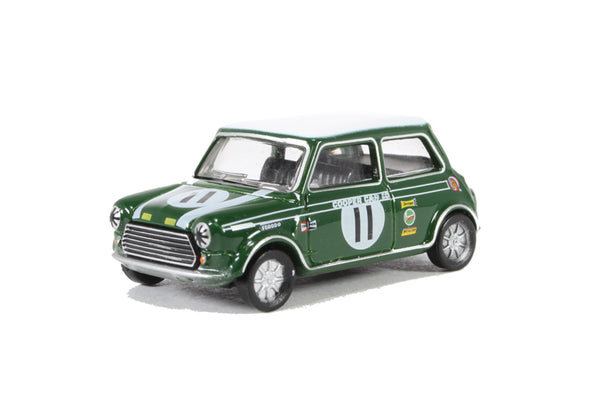 Oxford Diecast Mini Cooper S MKII John Rhodes 1968 Brands Hatch - 76MCS002