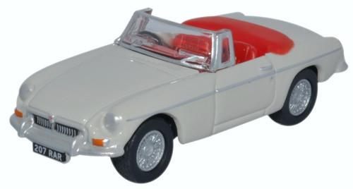 Oxford Diecast MGB Roadster Chelsea Grey - 76MGB007