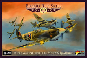 Supermarine Spitfire Mk IX squadron   Blood Red Skies