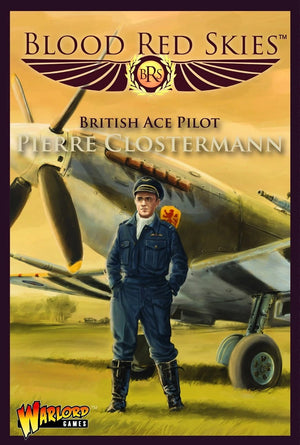Spitfire Mk IX Ace: Pierre Closterman    Blood Red Skies