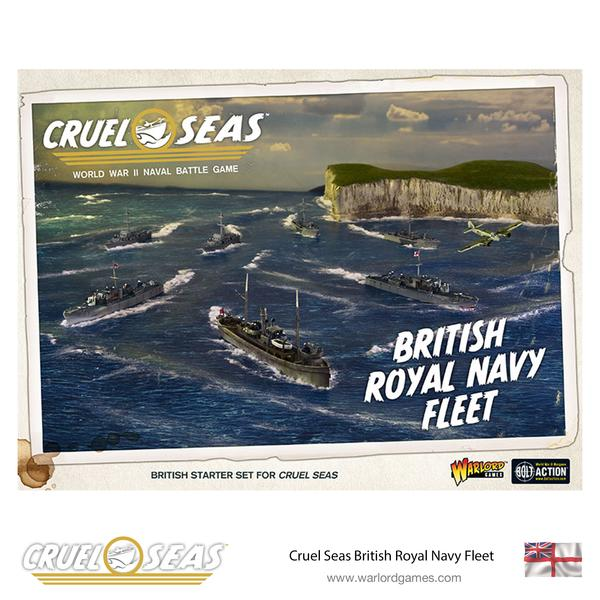 Cruel Seas Royal Navy Fleet