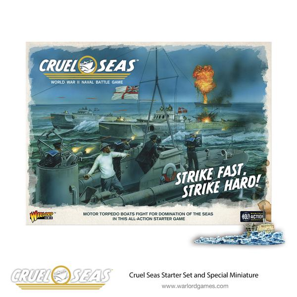 Cruel Seas Starter Set 1st edition