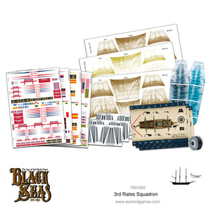 Black Seas: 3rd Rates Squadron (1770 - 1830)
