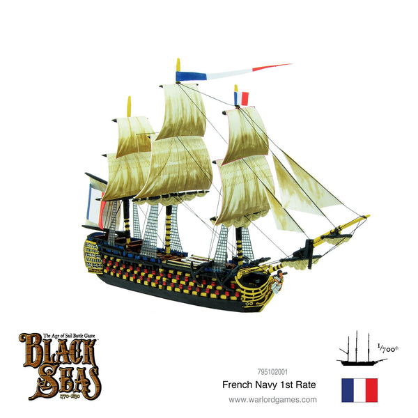 Black Seas: French 1st Rate