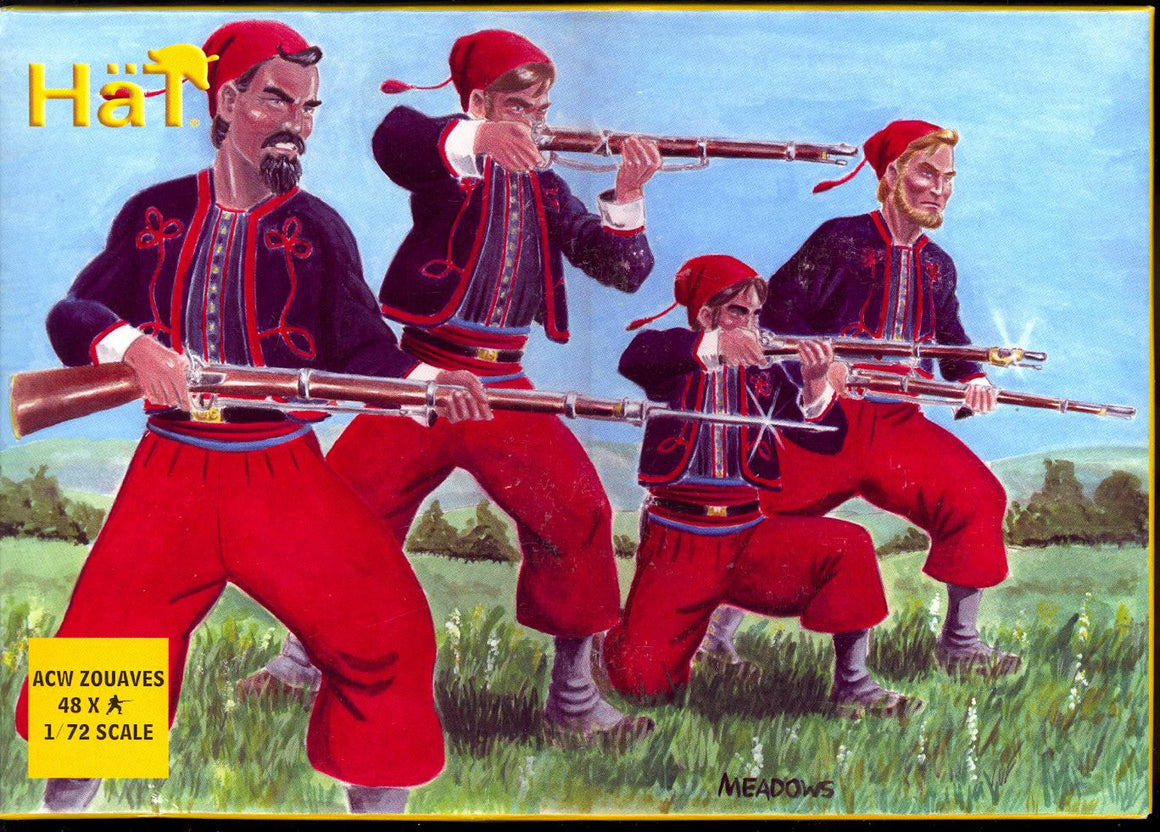 HaT 8004 American Civil War Zouaves