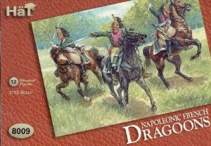 8009 Napoleonic French Dragoons