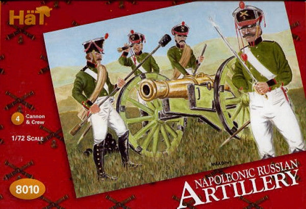 HaT 8010 Napoleonic Russian Artillery