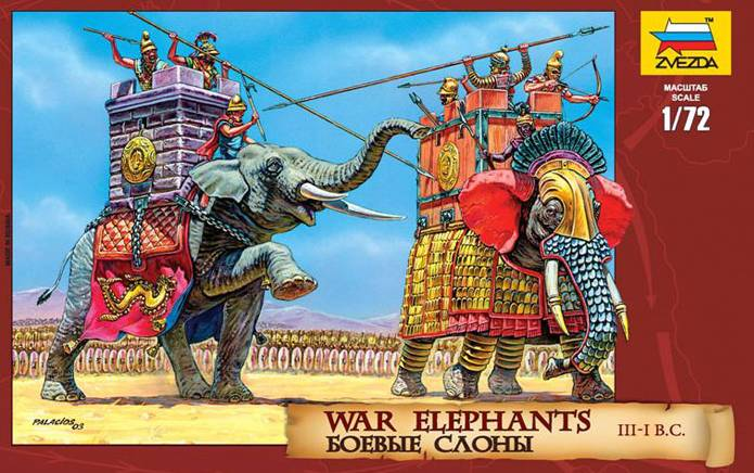 Copy of Zvezda 8011 War Elephants III-I B.C.