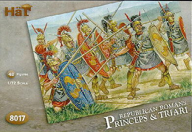 8017 Republican Roman Princeps and Triari