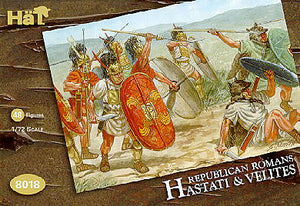 HaT 8018 Republican Romans Hastati and Velites