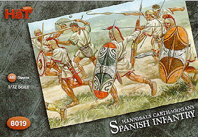 HaT 8019 Hannibal's Carthaginian Spanish Infantry