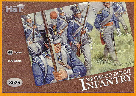 8025 Waterloo Dutch Infantry