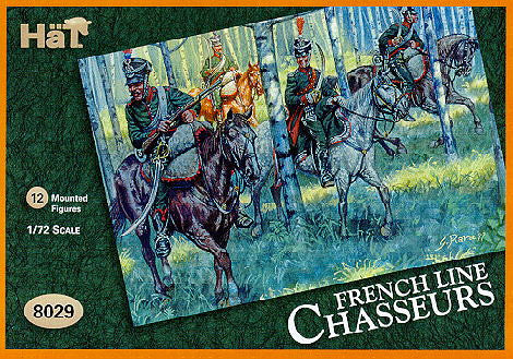 HaT 8029 Napoleonic French Line Chasseurs