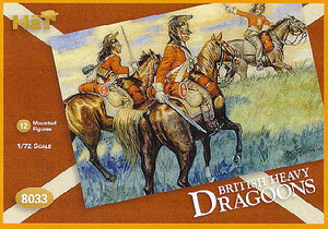 HaT 8033 Napoleonic British Dragoons