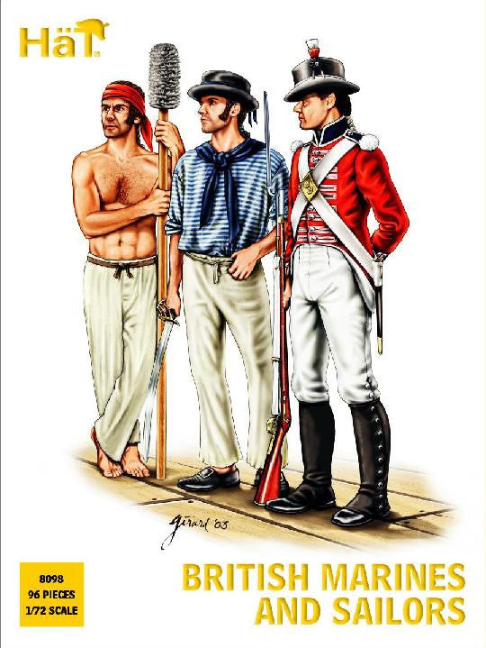 8098 Napoleonic British Sailors and Marines