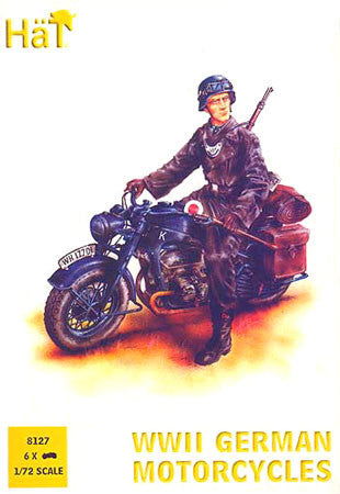 HaT 8127 German Motorcycle