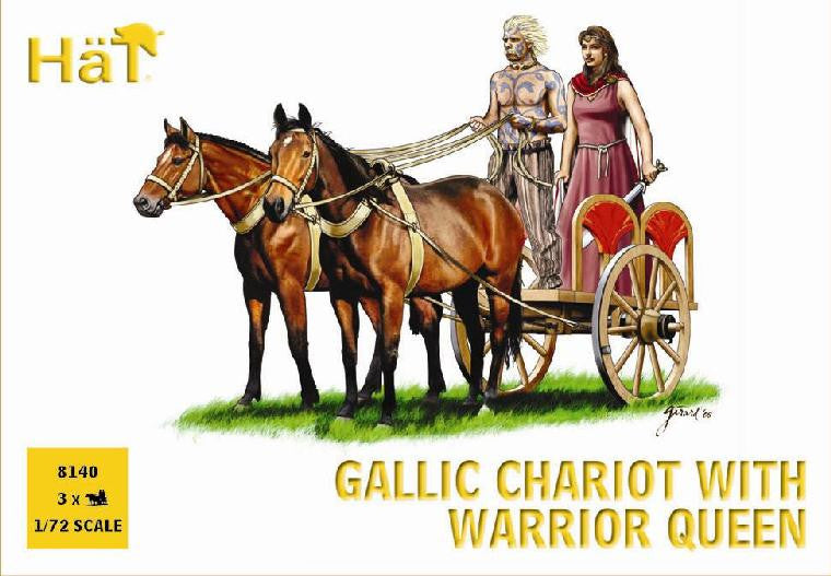 HaT 8140 Gallic Chariot with Warrior Queen