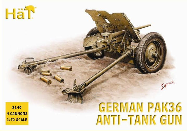 HaT 8149 German PaK36 Anti-Tank Gun
