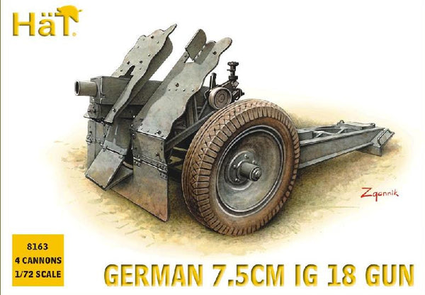 HaT 8163 German 7.5cm Infantry Gun