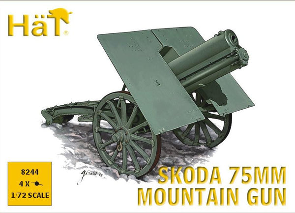 HaT 8244 Skoda 75mm Mountain Gun