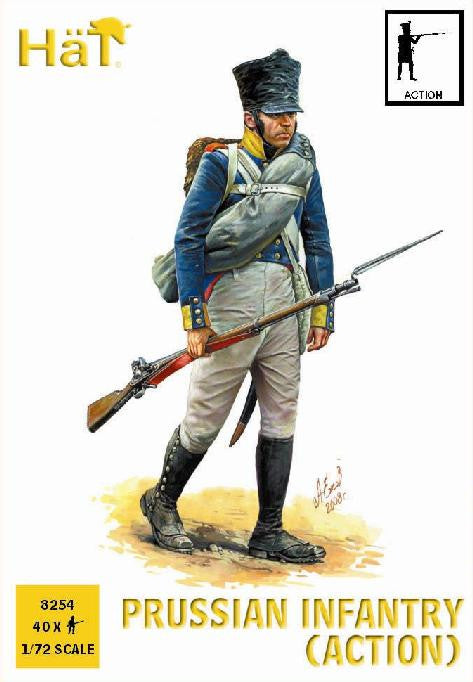 HaT 8254 Prussian Infantry (Action)