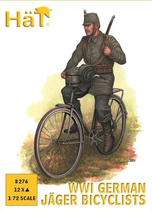 HaT 8276 WWI German Jaeger Bicyclists
