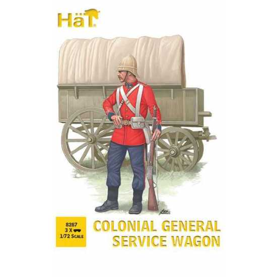 HaT 8287 Colonial General Service Wagon 1/72 Scale
