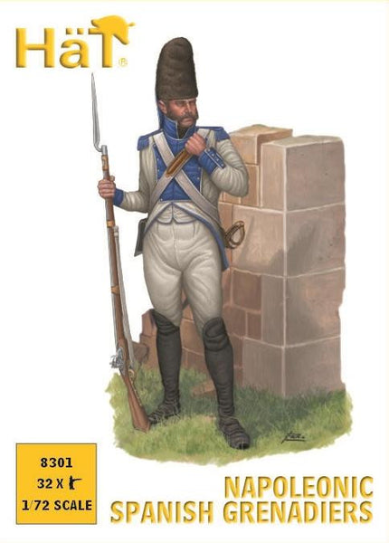 HaT 8301 Napoleonic Spanish Grenadiers