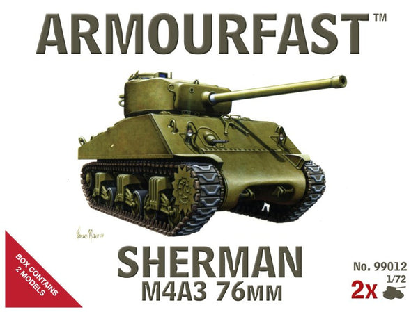 Armourfast 99012 Sherman M4A3 76mm
