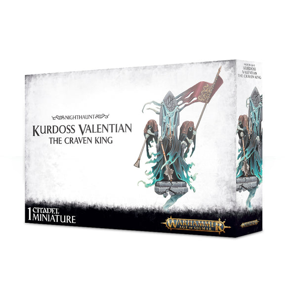 Nighthaunts: Kurdoss Valentian, The Craven King