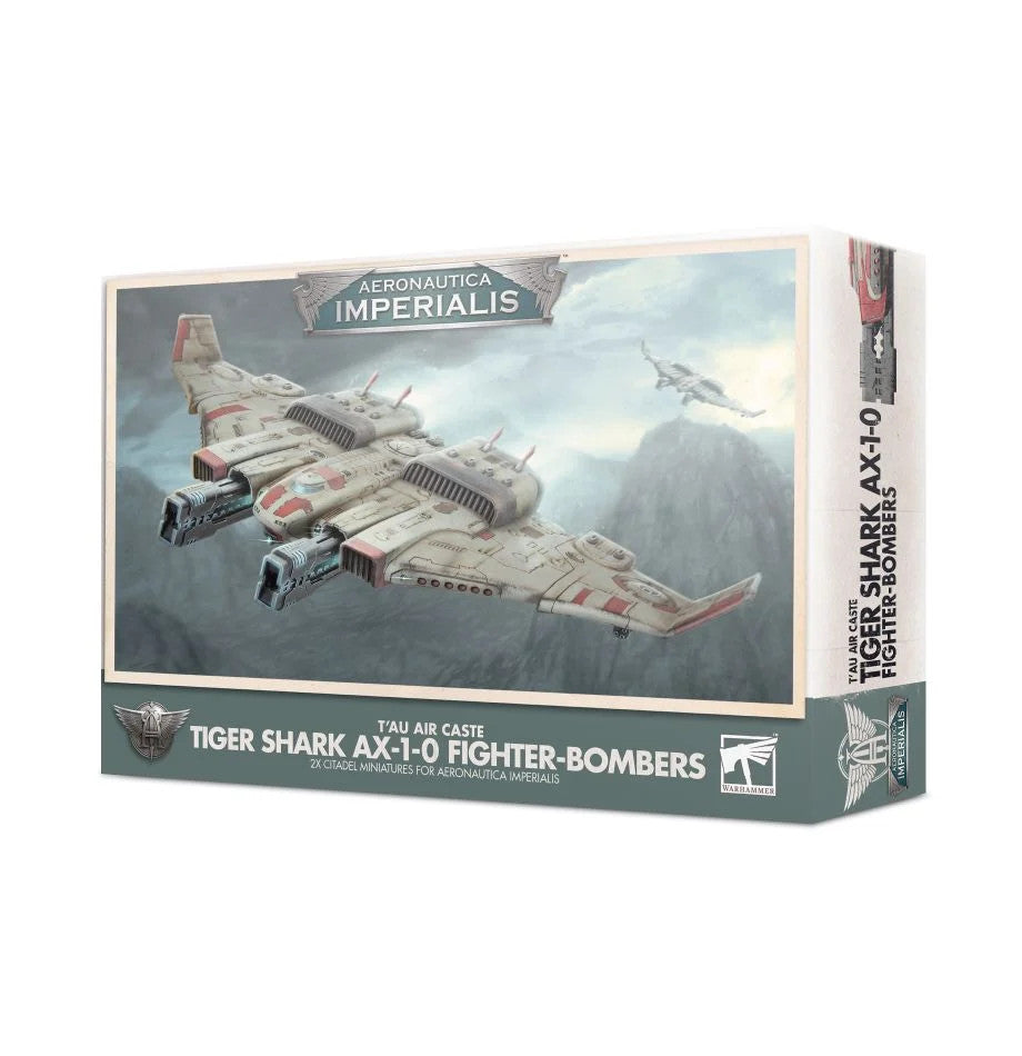 Aeronautica Imperialis Tau Air Caste Tiger Shark AX 1-0 Fighter-Bombers