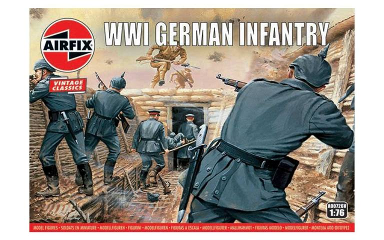 Airfix 1/76 WWI German Infantry