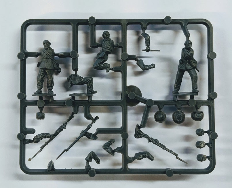 PERRY MINIATURES AMERICAN CIVIL WAR UNION INFANTRY SPRUES 28MM